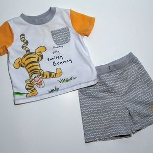 Babys' Tigger summer Outfit